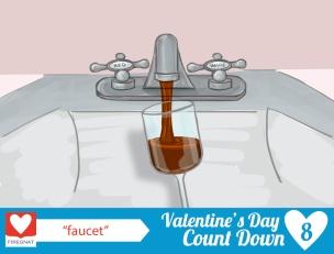 noun submission: faucet