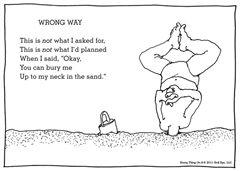 Shel Silverstein's 'Wrong Way'