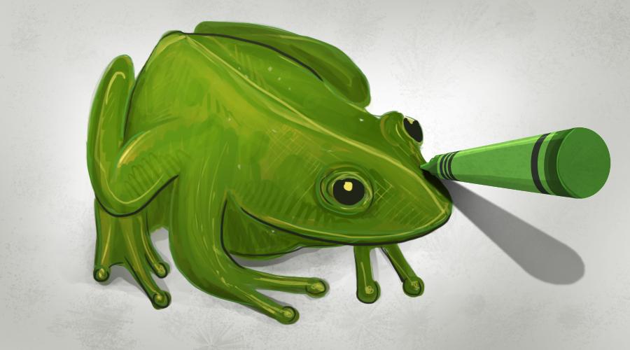 frogCrayon