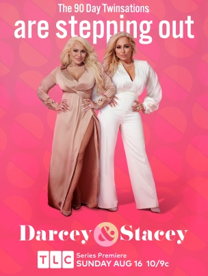 Darcey & Stacey: key art evolution