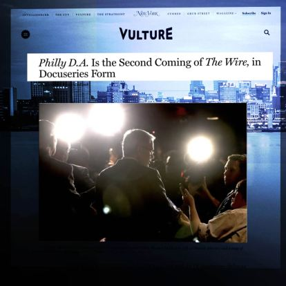 Philly D.A. - The second Coming of 'The Wire'